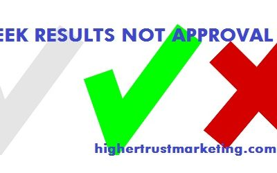 Stop Chasing Approval – ONLY Focus On Results